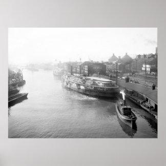 Opinión del viaducto: 1905 posters
