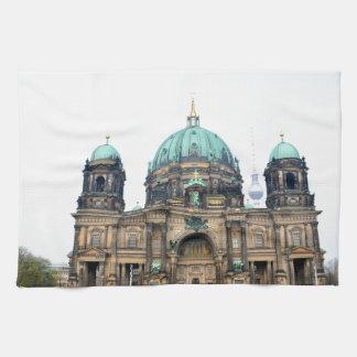 Opinión del vintage de la catedral de Berlín (Dom Toallas De Cocina