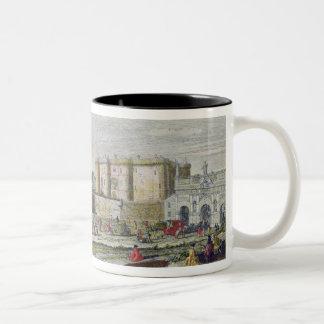 Opinión el Bastille y el Porte Santo-Antoine Taza Dos Tonos