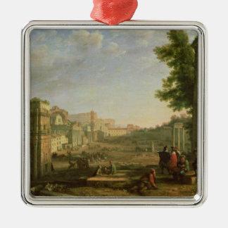 Opinión el Campo Vaccino, Roma, 1636 Ornaments Para Arbol De Navidad