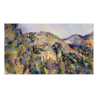 Opinión el Domaine San José - Paul Cézanne Tarjetas De Visita