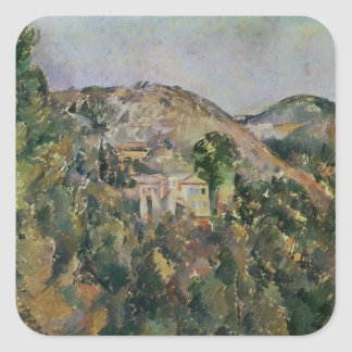 Opinión el Domaine San José, últimos 1880s Calcomanía Cuadradas Personalizada
