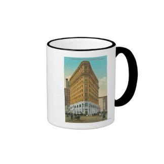 Opinión el edificio de Crocker y el nacional de Cr Tazas De Café
