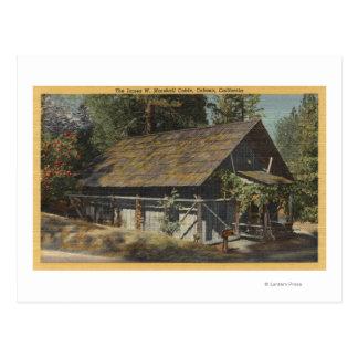 Opinión el James W. Marshall Cabin Postal