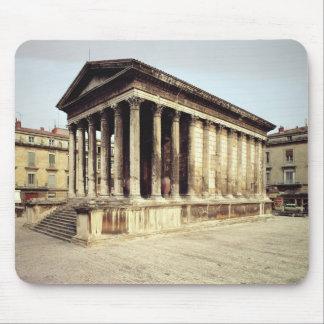 Opinión el Maison Carree, c.19 A.C. Alfombrillas De Raton