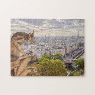 Opinión el   París de la torre Eiffel del Puzzle