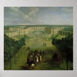 Opinión el Trianon magnífico, 1722 Póster
