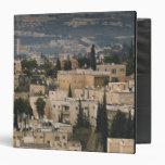 Opinión elevada de la ciudad de la torre de Jerusa