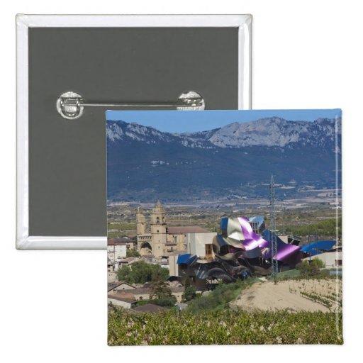 Opinión elevada y Hotel Marques de Riscal 2 de la  Pins