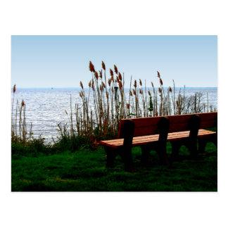 Opinión escénica de la bahía del océano postales