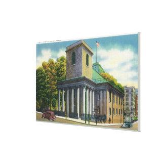 Opinión exterior Chapel de rey # 2 Lienzo Envuelto Para Galerias
