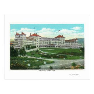 Opinión exterior del primer del hotel del Mt. Postal