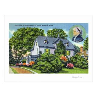 Opinión exterior Harriet Beecher Stowe Tarjeta Postal
