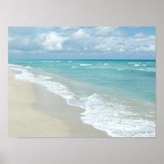 Opinión extrema de la playa de la relajación impresiones