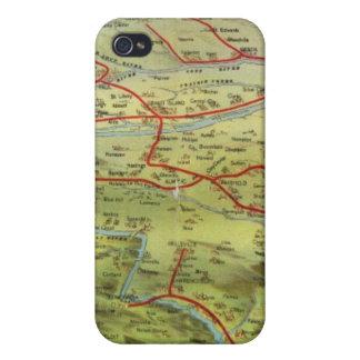 Opinión Great Plains de Birdseyes iPhone 4 Funda