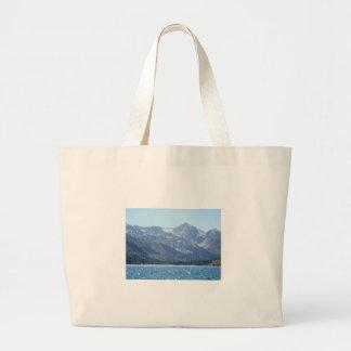 Opinión Hangbag del lago Bolsa Tela Grande