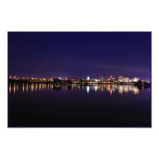 Opinión Harrisburg de la noche Fotografías