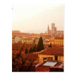 Opinión hermosa del verano de Florencia Tarjeta Postal