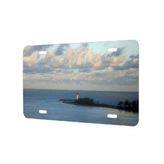 Opinión II del mar Placa De Matrícula