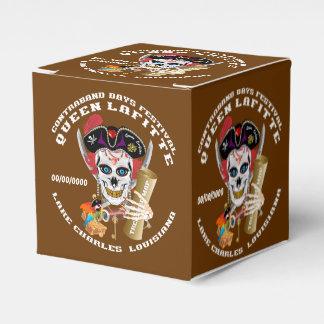 Opinión importante de la reina del pirata sobre caja para regalo de boda