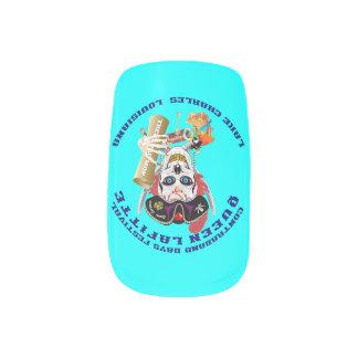 Opinión importante de la reina Lafitte del pirata Stickers Para Manicura