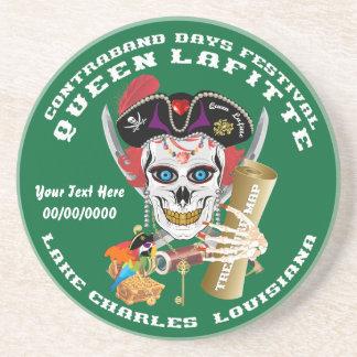 Opinión importante de la reina Lafitte del pirata Posavasos Cerveza
