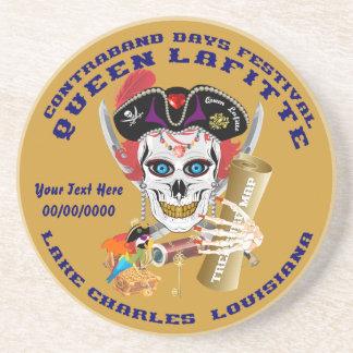 Opinión importante de la reina Lafitte del pirata Posavasos Personalizados
