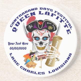 Opinión importante de la reina Lafitte del pirata Posavasos Para Bebidas