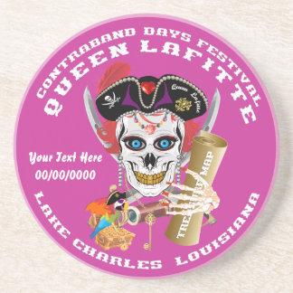 Opinión importante de la reina Lafitte del pirata Posavasos Diseño