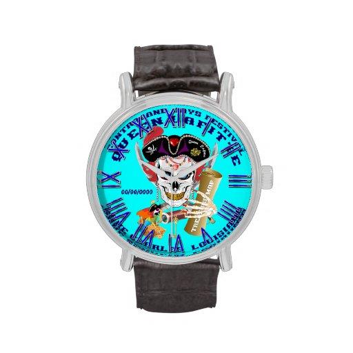 Opinión importante de la reina Lafitte del pirata  Reloj