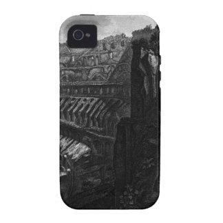 Opinión interior el Colosseum Juan Battista Vibe iPhone 4 Carcasa