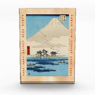 Opinión japonesa fresca de Fuji de la montaña del