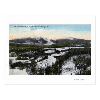 Opinión la ensillada del soporte en el invierno postales
