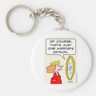 opinión mágica del espejo uno de la reina lo más f llavero redondo tipo pin