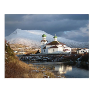 Opinión meridional rusa de la iglesia ortodoxa postal