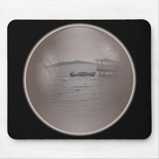 opinión Mousepad del lago Tapetes De Raton