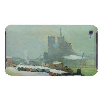 Opinión Notre Dame, 1894 (aceite en lona) iPod Case-Mate Cárcasas