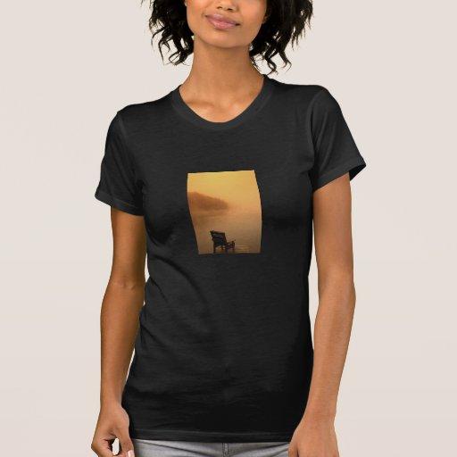 Opinión pacífica del lago camisetas