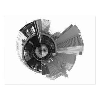 Opinión panorámica de 360 grados de Brooklyn NYC Tarjetas Postales