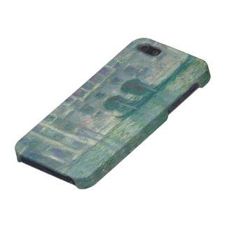 Opinión panorámica de Claude Monet el | del iPhone 5 Carcasas