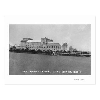 Opinión Photograp del auditorio de Long Beach, Tarjetas Postales
