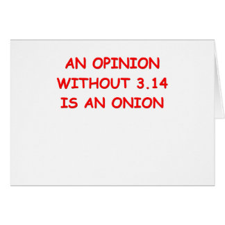 opinion pi card