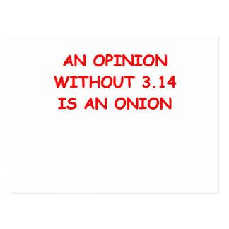 opinion pi postcard