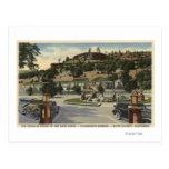 Opinión principal del hotel en las primaveras de tarjeta postal