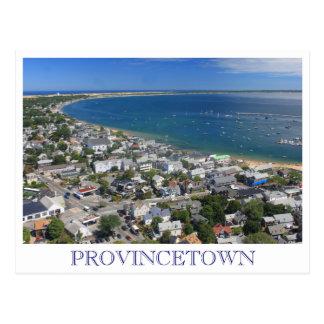 Opinión Provincetown Cape Cod del monumento del pe Tarjeta Postal