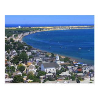 Opinión Provincetown Cape Cod del monumento del Postales