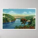 Opinión rey francés Bridge sobre Connecticut Posters