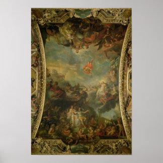 Opinión rey Louis XIV que gobierna solamente Impresiones