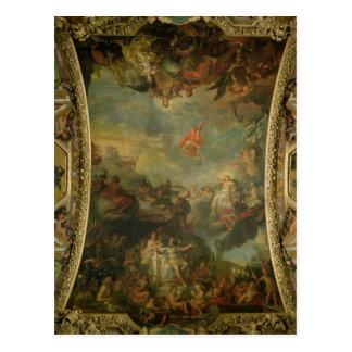 Opinión rey Louis XIV que gobierna solamente Tarjetas Postales