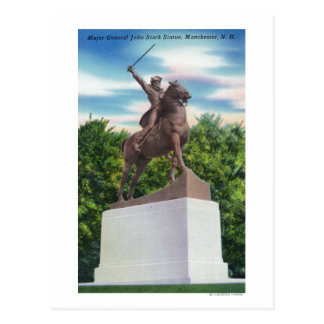 Opinión rígida de la estatua de la GEN Juan Tarjeta Postal